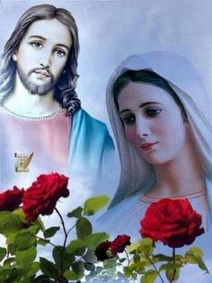 Jesus Wife, Jesus Mother, Jesus Our Savior, Blessed Mother Mary, Jesus Is Lord, Catholic Pictures, Pictures Of Jesus Christ, Religious Images, Religious Art
