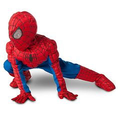 full spiderman costume for Kai  sc 1 st  Pinterest & Deluxe Toddler Spiderman Costume | Halloween | Pinterest | Toddler ...