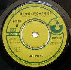 £0.99p Auction Ebay.  Scorpions - Is There Anybody There?/Another Piece Of Meat - Harvest HAR 5185
