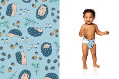 Honest Diapers in Happy Hedgehogs | honest.com/baby/honest-diapers