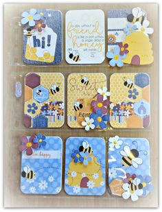 Bumble Bee Pocket Letter