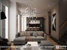 Thiết kế nội thất Yên Hòa Condominium căn hộ CH3