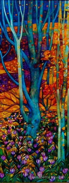 Colour Outside the Lines - Marzo - Elisabetta Trevisan.    For similar pins please follow me at - https://www.pinterest.com/annelouise1959/colour-outside-the-lines/