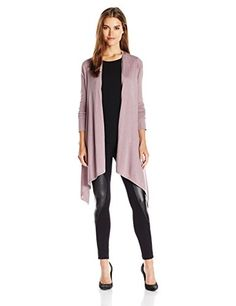 BCBGMAXAZRIA Womens CardiWrap Rosewood MediumLarge *** Details can be found by clicking on the image.