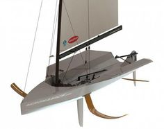 Aeronamics : FLO1 an 'Easy'-Foiling Sailboat - Ocean Selection