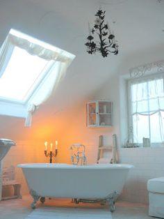 salle de bains Finally White