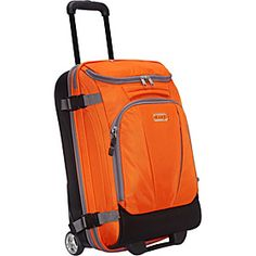 eBags Mother Lode TLS Mini 21 Wheeled Duffel - Orange Zest (Limited Edition) - via eBags.com!