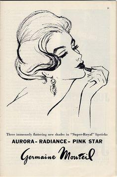 glamour vintage ad