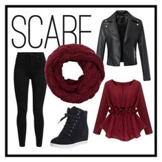 """""""SCARF"""" by irenevf ❤ liked on Polyvore featuring Levi's"""