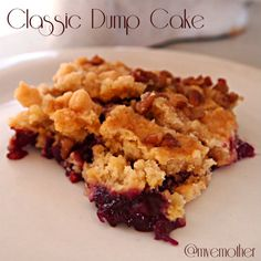 www.myveryeducatedmother.com Classic Dump Cake #recipe #cakes