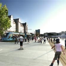 Oslo vokser #9 Havnepromenaden | Norsk Form - inspiration for Pasarela Corniche Island by SI Architect