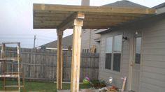 Attirant Video Of Homemade Patio Cover.