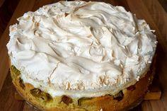 Rhabarber - Baiser - Kuchen 1