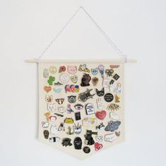 Pin Badge Display Pennant Enamel Lapel Pin by CousinsCollective