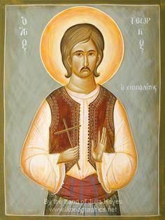 Ορθόδοξος Συναξαριστής :: Άγιος Γεώργιος ο Νεομάρτυρας από τη Χίο