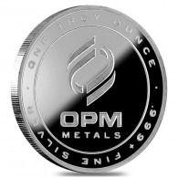 1 oz OPM Silver Round