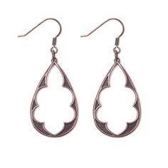 Alamos Earrings in Bronze