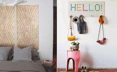 Improviso no décor. Veja: http://www.casadevalentina.com.br/blog/detalhes/design-no-improviso-2965 #decor #decoracao #interior #design #casa #home #house #idea #ideia #detalhes #details #style #estilo #casadevalentina #diy #bedroom #quarto
