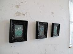 art works by Mari Mochizuki  スミレなどの植物を描いた望月麻里の作品です。#望月麻里