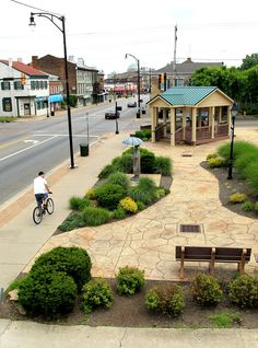 The site of a former gas station transformed into a pocket park is expected to soon be city property.
