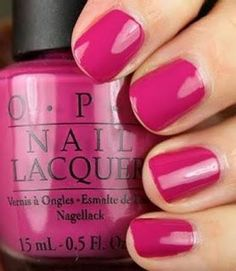 OPI Dim Sum Plum is is 'berry' sexy on summer nails!