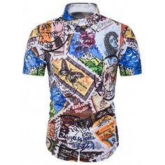 64b5a3d5 Cheap beach shirts men, Buy Quality fashion hawaiian shirts directly from  China hawaiian shirt Suppliers: Summer Fashion Beach Shirt Men Chemise  Homme ...