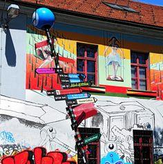 Metelkova, centro culturale alternativo Metelkova mesto » Visit Ljubljana