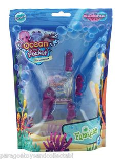 Ocean in My Pocket Paradise Cove Seahorse Mums and Babies Family | eBay (worldwide)