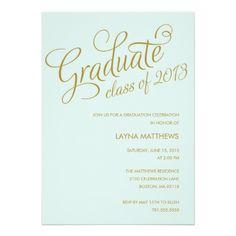 MOST TALKATIVE   GRADUATION INVITATION #graduation #classof2013