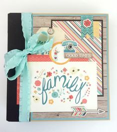 Artsy Albums Mini Album and Page Layout Kits and Custom Designed Scrapbooks by Traci Penrod: Family Album Kit with Echo Park