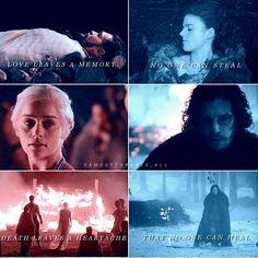 Game of thrones | We are made by the same pain | Jon Snow and Daenerys Targaryen #Jonerys #daenerys #targaryen #dragonstone #stormborn #got #gameofthrones #hbo