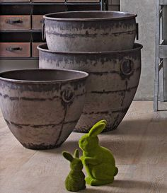 Earth Pots from Domayne