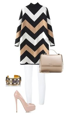 """""""Striped"""" by lolyspa ❤ liked on Polyvore featuring Dolce&Gabbana, Giuseppe Zanotti, HIRSCHELL, Givenchy, women's clothing, women, female, woman, misses and juniors"""
