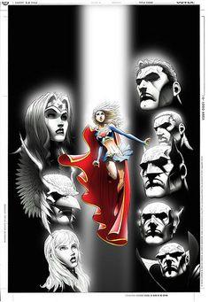 Supergirl, Justice League