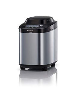 Panasonic SD-ZB2502BXC Stainless Steel Breadmaker with Gluten Free program--130 Small Kitchen Appliances, Kitchen Gadgets, Home Appliances, How To Make Jam, How To Make Bread, Bread Maker Machine, Bread Machines, Kitchen Equipment, Black Stainless Steel