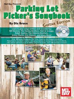 Parking Lot Picker's Songbook Guitar Book CD Set
