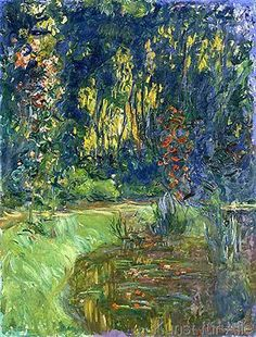 Claude Monet - Garden of Giverny, 1923