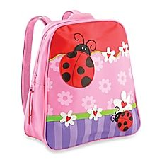 image of Stephen Joseph® Ladybug Go Go Backpack in Pink