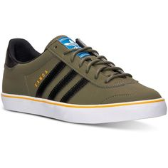 big sale 83b8b 37c7c adidas Mens Samoa Vulc Casual Sneakers from Finish Line (40) ❤ liked on  Polyvore