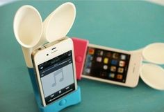Rabbit Ears Speakers for iPhone $ 12.00