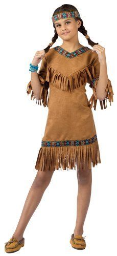 Costumes For All Occasions FW111022MD American Indian Girl Child Medium costumes. $25.25