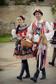 Moravian folk costume