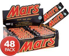 Mars Bars 48 x Mars Bar, Peanuts, Contents, Chocolates, Caramel, Waiting, Egg, Milk, Butter