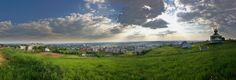 Panorama of Uzhgorod