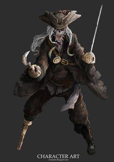 Undead Pirate by Konsep on DeviantArt