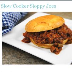 Slow cooker sloppy joes http://www.momswhothink.com/crock-pot-recipes/slow-cooker-sloppy-joes.html