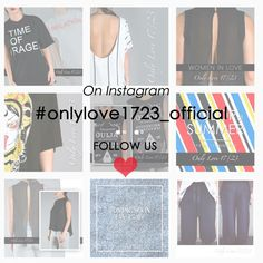 Follow Only Love 17/23 on #instagram