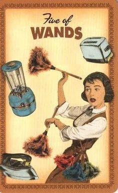 Resultado de imagem para tarot das donas de casa