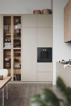 Kitchen Room Design, Modern Kitchen Design, Modern House Design, Interior Design Kitchen, Kitchen Decor, Kitchen Ideas, Casa Pop, Casa Clean, Minimalist Kitchen