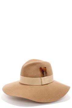 Just Deserts Camel Fedora Hat